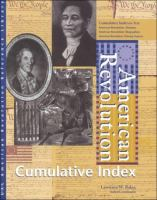 American Revolution Reference Library Cumulative Index