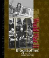 World War II, Biographies
