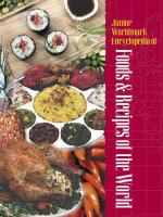 Junior Worldmark Encyclopedia of Foods and Recipes of the World