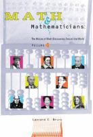 Math and Mathematicians
