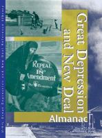 Great Depression and New Deal Almanac