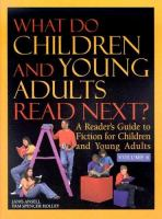 What Do Children And Young Adults Read Next, Volume 6