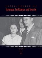 Encyclopedia of Espionage, Intelligence, and Security