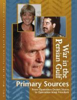 War In The Persian Gulf Primary Sources