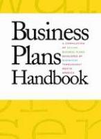 Business Plans Handbook, Volume 9
