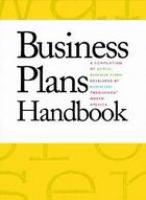 Business Plans Handbook, Volume 10