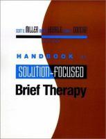 Handbook of Solution-focused Brief Therapy