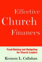 Effective Church Finances
