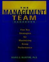 The Management Team Handbook