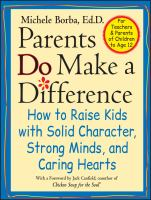 Parent's Do Make A Difference