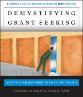 Demystifying Grant Seeking