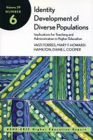 Identity Development of Diverse Populations