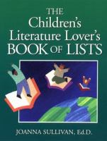 The Children's Literature Lover's Book of Lists
