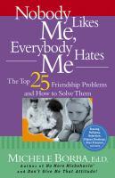 Nobody Likes Me, Everybody Hates Me