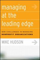 Managing at the Leading Edge