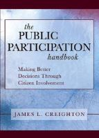 The Public Participation Handbook