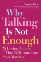 Why Talking Is Not Enough