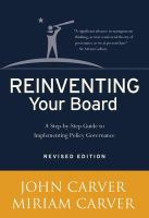 Reinventing your Board
