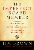 The Imperfect Board Member