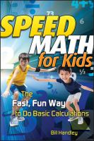 Speed Math for Kids