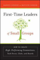 First-time Leaders of Small Groups