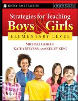 Strategies for Teaching Boys and Girls, Elementary Level