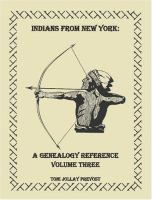 Indians From New York in Wisconsin and Elsewhere