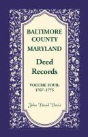 Baltimore County, Maryland Deed Records