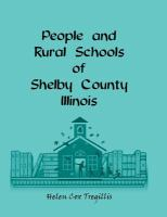 People and Rural Schools of Shelby County, IL