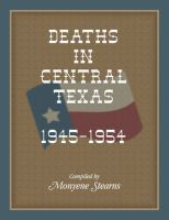 Deaths in Central Texas