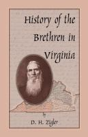 History of the Brethren in Virginia