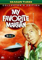 My favorite martian. Season three