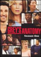 Grey's anatomy : [videorecording (DVD)] season one