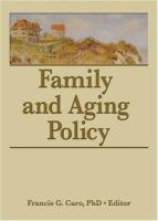 Family and Aging Policy