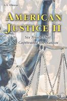 American Justice II