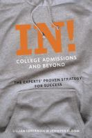 In!, College Admissions and Beyond