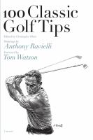 100 Classic Golf Tips