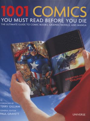 Cover image for 1001 Comics You Must Read Before You Die