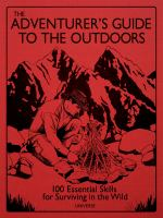 The Adventurer's Guide to the Outdoors