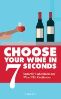 Image: Choose your Wine in 7 Seconds