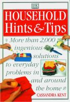 Household Hints & Tips