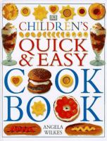 Children's Quick & Easy Cook Book