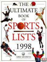 The Ultimate Book of Sports Lists, 1998