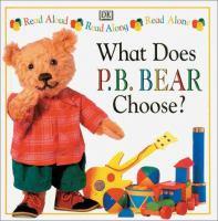 What Does P.B. Bear Choose?