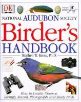 National Audubon Society Birder's Handbook