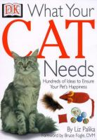 What your Cat Needs