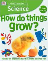 How Do Things Grow?
