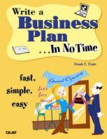 Write A Business Plan--in No Time