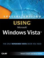 Using Microsoft Windows Vista