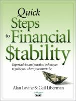 Quick Steps to Financial Stability